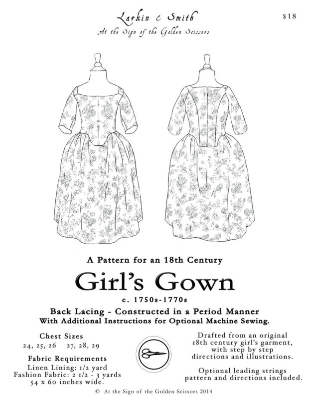 Girl's Gown Pattern