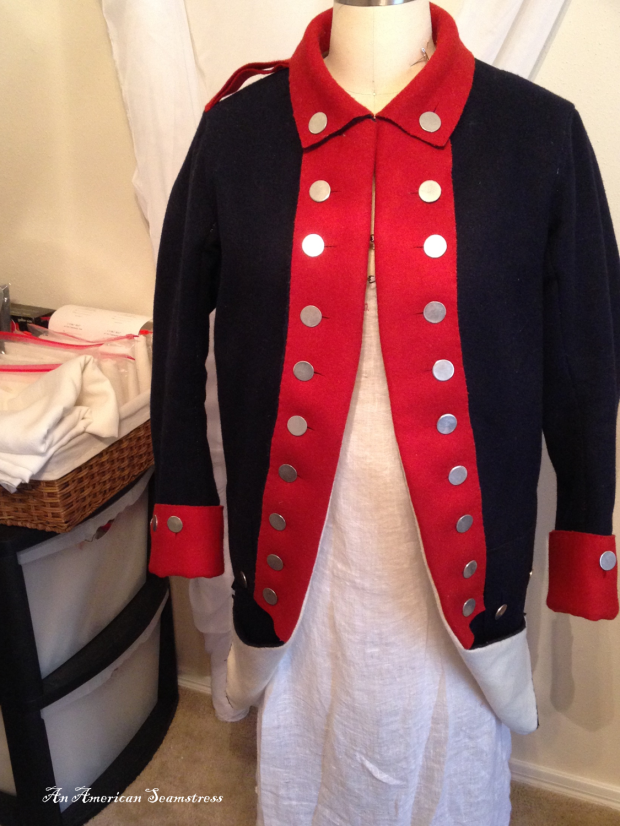 Regimental Coat Front